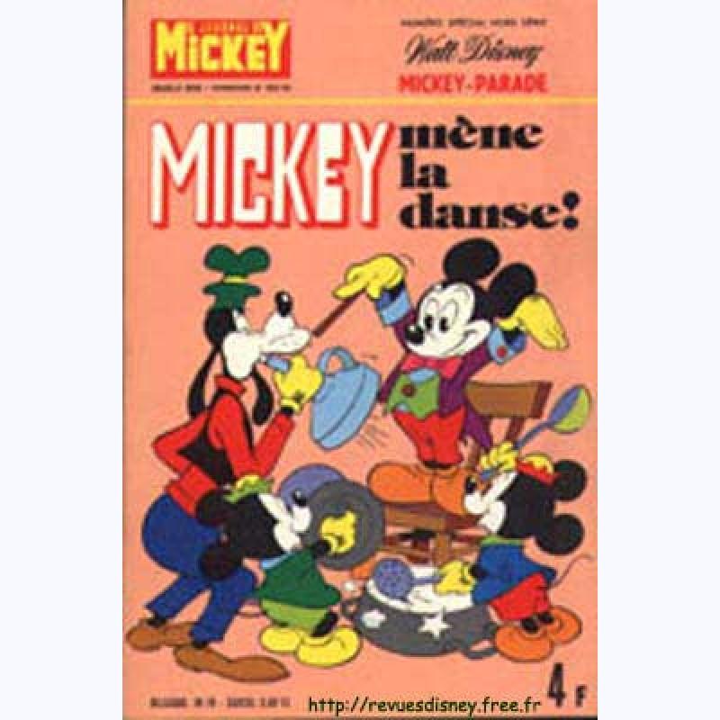 Mickey parade n 40 1208 mickey m ne la danse sur www bd - Danse de mickey ...
