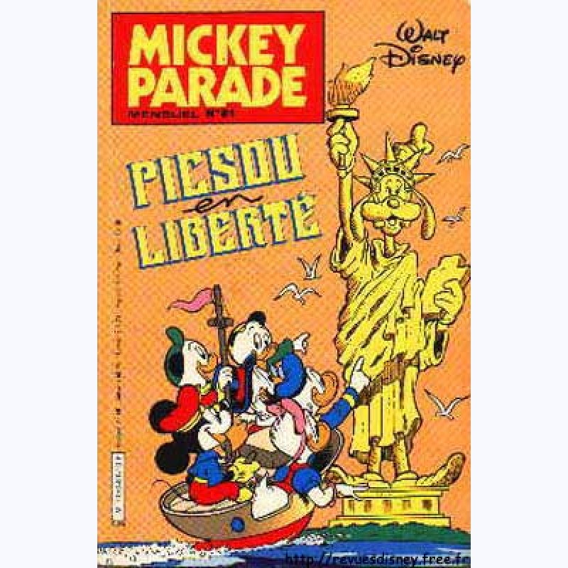 mickey parade 2 me s rie n 81 picsou tire des plans. Black Bedroom Furniture Sets. Home Design Ideas