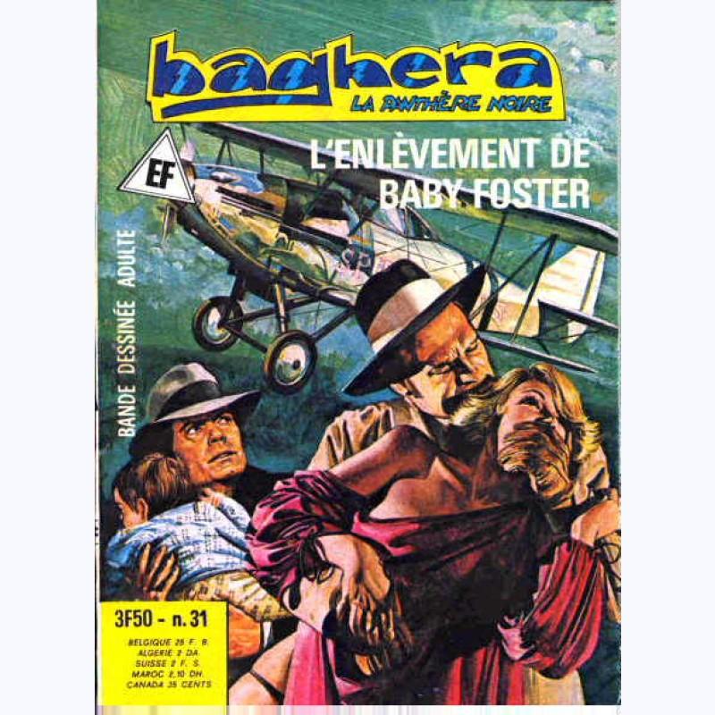 Baghera La Panthère Noire N 31 L Enlèvement De Baby