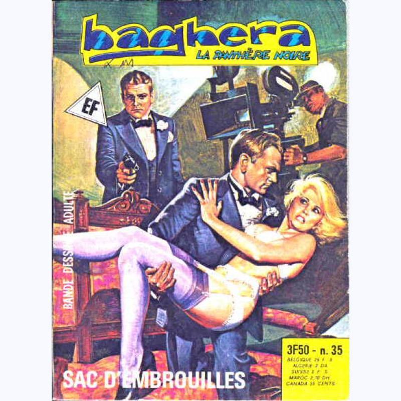 Baghera La Panthère Noire N 35 Sac D Embrouilles Sur