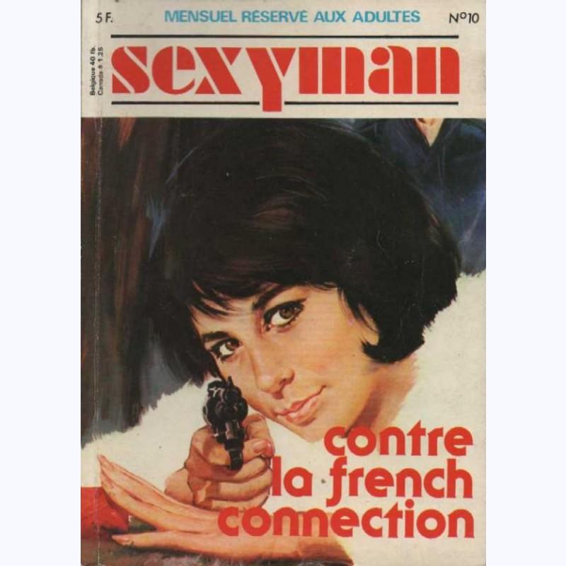 sexyman n 10 contre la french connection sur www bd. Black Bedroom Furniture Sets. Home Design Ideas