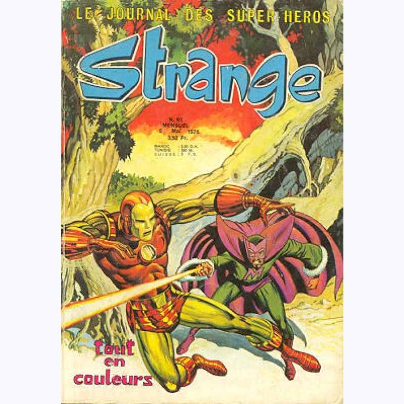 captain marvel strange