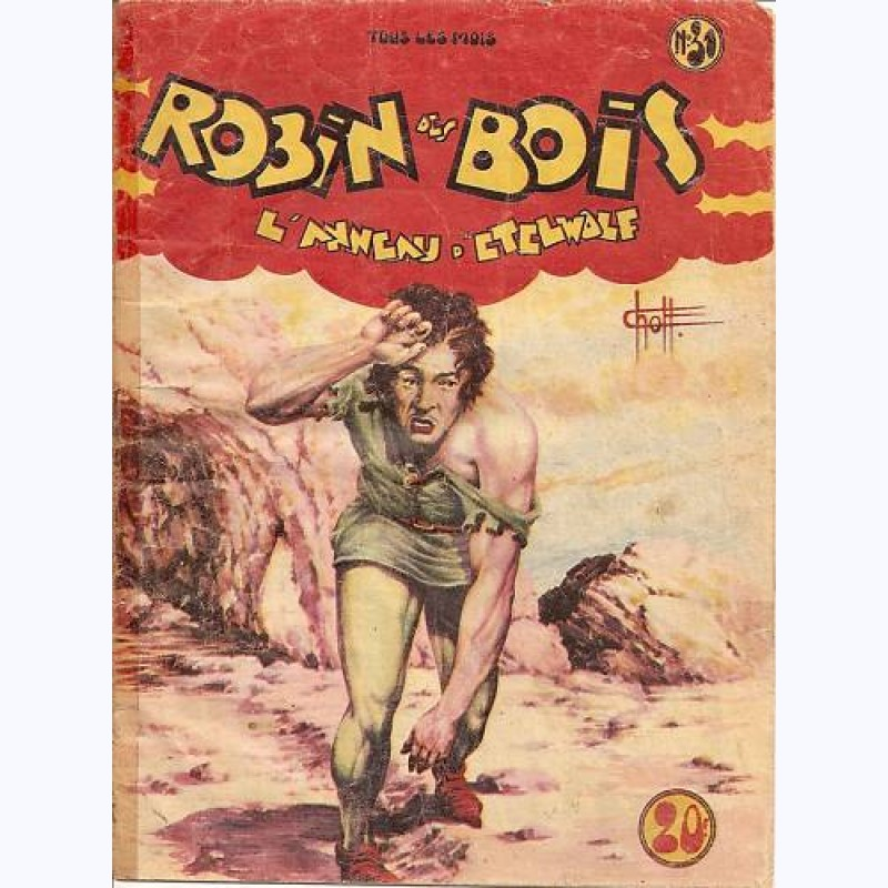 Robin des Bois (1ère Série)  n° 31, Lanneau dEtelwolf  ~ Cd Robin Des Bois