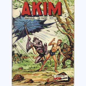 Akim : n° 183, Tornade sur la jungle