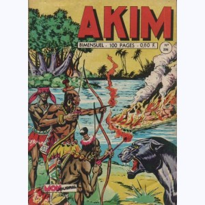 Akim : n° 206, Un million de dollars làchés dans la jungle