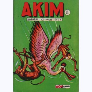 Akim : n° 214, Le mur invisible