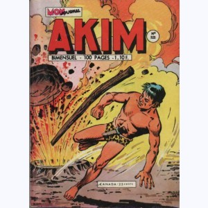 Akim : n° 325, Les lianes-serpents