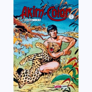 Akim Color : n° 1, Fils de la jungle