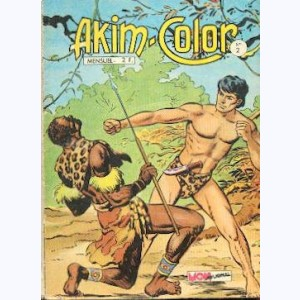 Akim Color : n° 2, La jungle en révolte