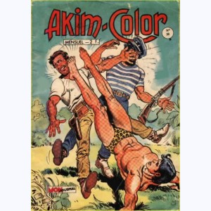 Akim Color : n° 30, Le galion retrouvé