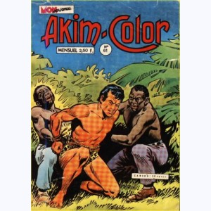 Akim Color : n° 61, L'île en flammes