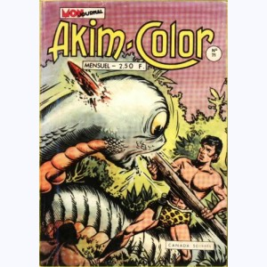 Akim Color : n° 71, Le monstre de la cité