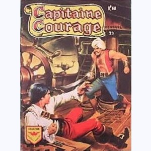 Capitaine Courage : n° 23, Le pirate mystèrieux