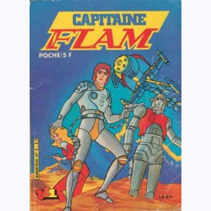 Capitaine Flam : n° 2, Attaque du cosmos