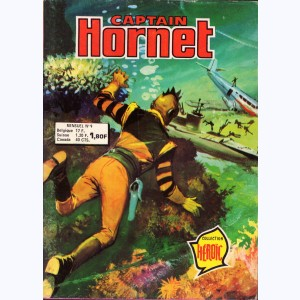 Captain Hornet : n° 9, Les pièges de la jungle Morgyn
