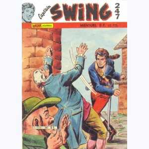 Cap'tain Swing : n° 247, Trois chats noirs à queue rouge ...