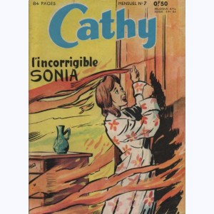 Cathy : n° 7, L'incorrigible Sonia