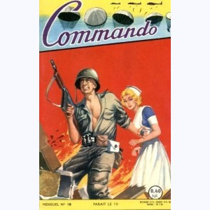 Commando : n° 18, Le chef volant