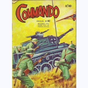 Commando : n° 42, L'as de la vengeance