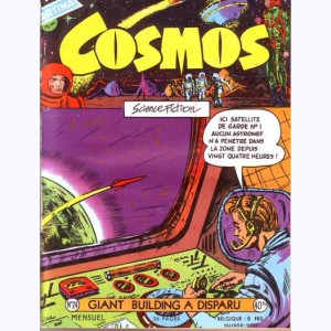 Cosmos : n° 24, Tommy Flash : Giant Building a disparu