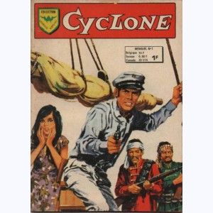 Cyclone : n° 1, Les pirates de la Mer de Chine