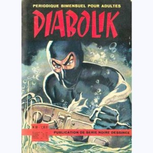 Diabolik : n° 18, Hold-up au fond de l'océan