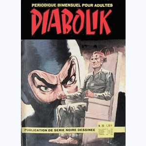 Diabolik : n° 20, Le secret du tatoué