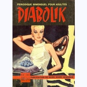 Diabolik : n° 31, La rose de diamants