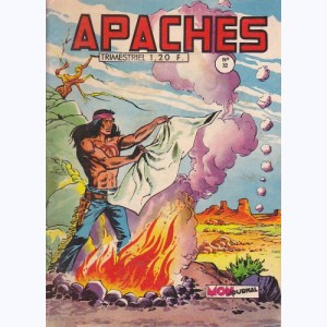 Apaches : n° 32, Flèche Rouge - Le train de Santa Fé