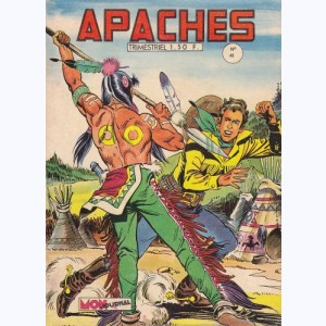 Apaches : n° 41, Rex Apache - Le canyon du Diable