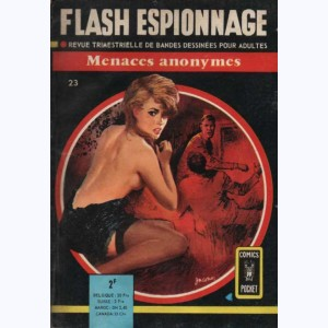 Flash Espionnage : n° 23, Menaces anonymes