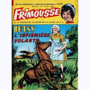 Frimousse : n° 92, Betsy infirmière volante
