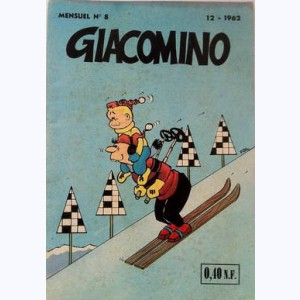 Giacomino : n° 8, Echec aux martiens