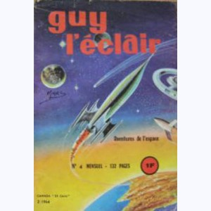 Guy l'Eclair : n° 4, Destination : Jupiter !