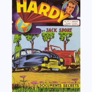 Hardy : n° 19, Jack SPORT : Documents secrets