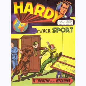 Hardy : n° 21, Jack SPORT : Mlle Berthe et ses mitaines