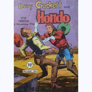 Hondo : n° 28, Davy CROCKETT : La disparition des Atabowes