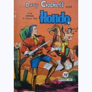 Hondo : n° 30, Davy CROCKETT : Le secret du scout