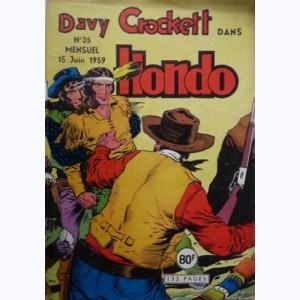 Hondo : n° 35, Davy CROCKETT : La tour du Diable