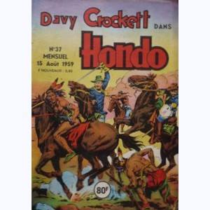 Hondo : n° 37, Davy CROCKETT : Le secret de l'homme tatoué