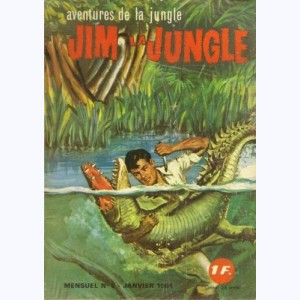 Jim la Jungle : n° 5, Un homme disparaît ...