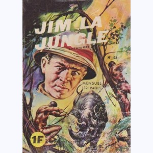 Jim la Jungle : n° 26, Le buffle fou