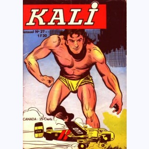 Kali : n° 27, Chasse au chacal