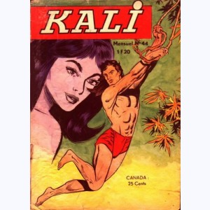 Kali : n° 44, Terreur sur la jungle
