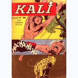 Kali : n° 100, Chasse au chacal