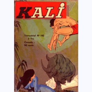 Kali : n° 110, L'esclave des dieux : Red du 31 Re..
