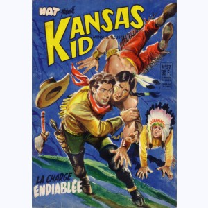 Kansas Kid : n° 57, La charge endiablée, Cavalcade