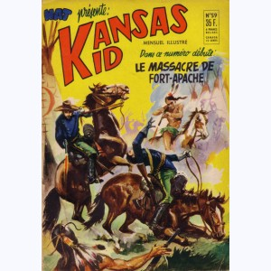 Kansas Kid : n° 59, Le massacre de Fort-Apache