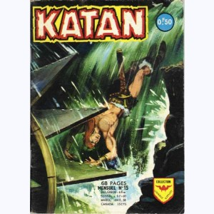 Katan : n° 15, Le dragon d'or