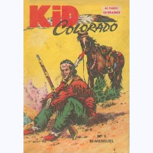 Kid Colorado : n° 1, Les 4 flèches apaches